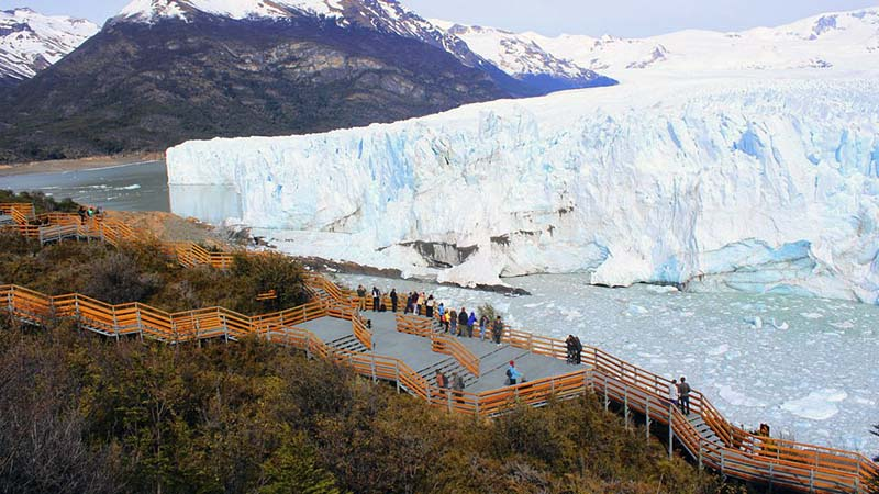 El Calafate – Trails at the Perito Moreno Glacier
