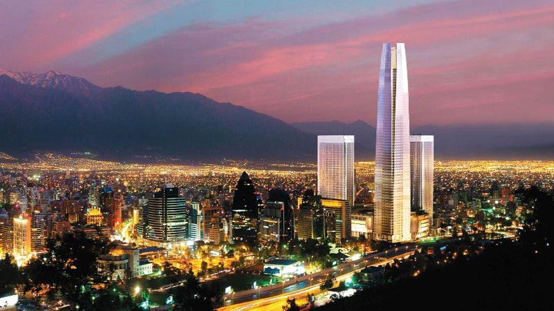 Santiago de Chile – Night View