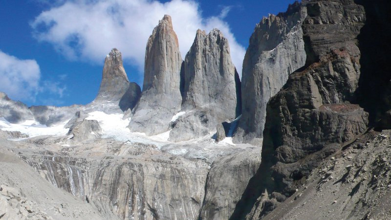 Torres del Paine – South, Central, North and Peineta Towers